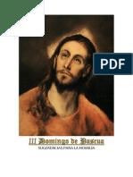 III Domingo de Pascua- sugerencias para la homilía