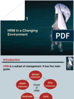 Human Resources Management Chapter 1