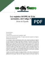 Reino de España - Codigo Penal