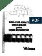 DrainKIT - Tubulatura Gofrata Din Polietilena Pt. Retele de Canalizare - Cartea Tehnica