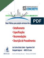 Palestra Praticas Qualidade Projeto Cabral