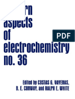 (Modern Aspects of Electrochemistry 36) Costas G. Vayenas, Brian E. Conway, Ralph E. White-Springer (2002) (1)