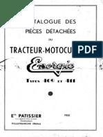 Energic 409 Et 411 Catalogue Pieces Detachees