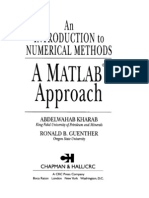 An Introduction to Numerical Methods.a Matlab Approach