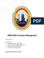 WBB10202 Innovation Management