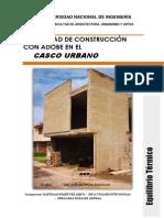 Posibilidad de Construccion Con Adobe en El Casco Urbano Final