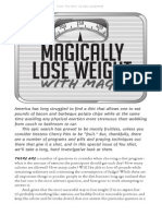 Magically Lose Weight With Magic