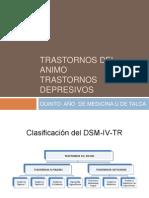 Trastornos Depresivos Clase de Medicina