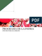 Plan de La Patria 2013 2019