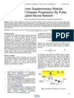 X Ray Scanner Supplementary Module Evaluation of Disease Progression by Pulse Coupled Neural Network