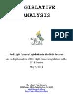 Red Light Camera Legislation in the 2014 Session