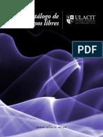 Catalogo Cursos Libres Trimestrales