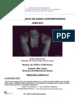 Taller Intensivo de Danza Mar Lopez-junio-2014