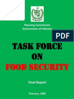 Task Force Report on Food Security
