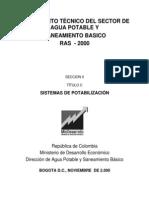 Criterios Diseno Procesos Potabilizacion Norma Colombiana