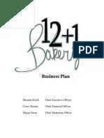 crane bakery ltd business plan doc supermarket retail