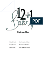 Bakery Business Plan2