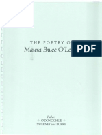 The Poetry of Maura Bwee O'Leary
