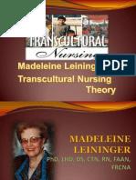 model transkultural Nursing
