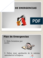 6. Plan de Emergencias