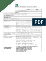 Relatório de Atividades Complementares - Dissiminador Fiscal