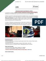 Alumni recibió premio internacional de periodismo online-Universidad de los Andes