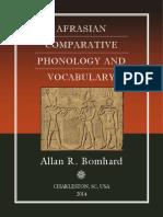 Bomhard - Afrasian Comparative Phonology and Vocabulary