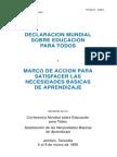 Declaración mundia de educación para todos 1990.pdf