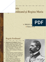 1 Decembrie - Regele Ferdinand Si Regina Maria