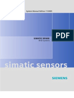 Siemens RF600 System_Manual