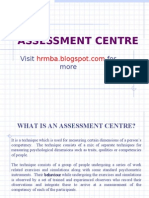 Assessment Centres ppt