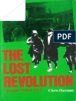 Chris Harman the Lost Revolution Germany, 1918 to 1923 1982