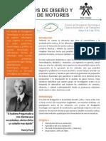 Parametros de Diseño y Operación de Motores