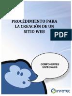Procedimimiento Para La Creacion de Un Sitio Web