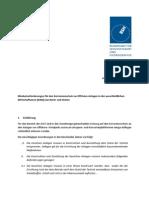Mindestanforderungen an Korrosionsschutz Von Offshore-Anlagen
