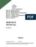 Saeco Royal Service Manual
