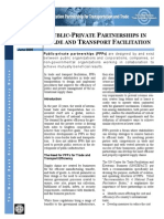 Public-private Partnerships In