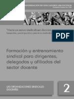b - Las Organizaciones Sindicales Docentes 2 - MTN