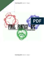 Ffrpg Versão 3-0