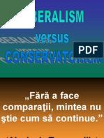 Liberalism Versus Conservatorism