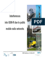RSCom Mtg 35 GSM-R Interference 23 March 2011