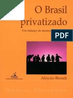 Brasil Privatizado