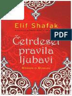 Cetrdeset pravila ljubavi - Elif Shafak