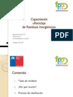 Capacitacion en Residuos Inorganicos (2)