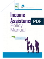 NWT Income Assistance Policy Manual Feb 2014