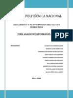Analisis de Solidos en Suspension (1)