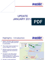 Corridor Resources Jan 2014 Investor Presentation
