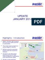 Corridor Resources Jan 2014 Investor Presentation