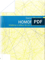 BORRILLO Daniel Homofobia Historia e Critica de Um Preconceito