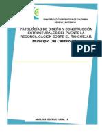Patologia en Diseño y Construcion de Puentes